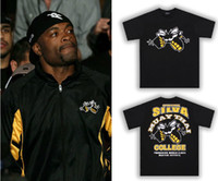 Round anderson silva - man short sleeve t shirt Anderson Silva Spider fight tops black