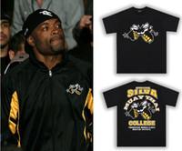 Men anderson sport shirts - man short sleeve t shirt Anderson Silva Spider fight tops black