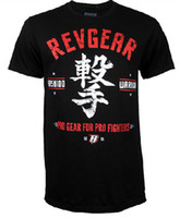 Wholesale man short sleeve t shirt mma Revgear Sashimono fight tops