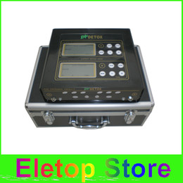 Wholesale pieces detox machine ion foot spa foot bath foot spa detox foot spa ion cleanse dual system detox machine