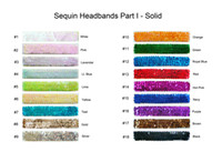 headbands for yoga volleyball - Stretch Sequin Headband Team Softball Basketball Volleyball Soccer Track