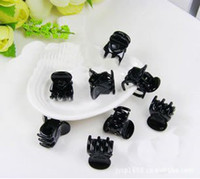 Wholesale Min order is mix order Black small alloy hair claws hair accessories FS0036