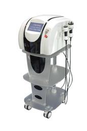 Wholesale New RF Cavitation Wight Loss Machine Body Shaping amp Slimming Device with KHz Ultrasonic Cavitation tripolar RF Handles for Full Body