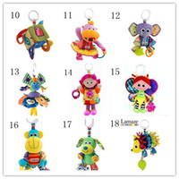 Cloth 0-12 Months  2013 hot selling Lamaze brand soft plush hedgehog baby Toy sets rattle bed bell for education L02510