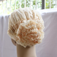 Wholesale Muslim Lastest Muslim Lace Flower Cap Muslim Hijab colors