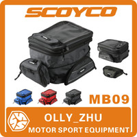 Wholesale 2013 Scoyco MB09 Motorcycle Tank Bag Sport Helmet Bags Racing Motobike Backpack Magnet Luggage Travel Accessories