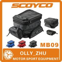 Wholesale 2015 New Scoyco MB09 Motorcycle Tank Bag Sport Helmet Bags Racing Motorbike Backpack Magnet Luggage Travel Bag Accessories