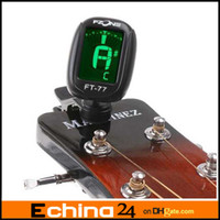 Wholesale LCD display Clip on Guitar Tuner FT for Electronic Digital Chromatic Bass Violin