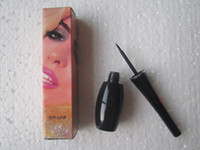 Wholesale new style bottle makeup black liquid eyeliner eye liner with box