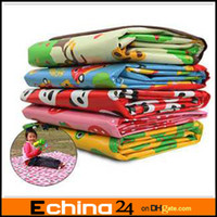 Cheap Children's game blanket baby crawling beach cushion picnic MATS for outdoor outing