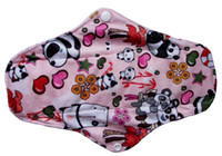 Wholesale Washable Menstrual Pads Bamboo Cloth Sanitary Pads