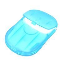 bath soap - Beautiful wedding gifts Washing Hand Bath Travel Scented Slice Sheets Foaming Box Paper Soap