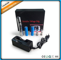 Electronic Cigarette Set Series  New 2013 Vaporizer lavatube provari new arrival high quality Lavatube VV MOD Electronic cigarette Kit DHL Free shipping