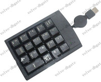 Wholesale USB Keys Keypad Numeric Keyboard Multifunction Wire Number Calculator For Laptop Easy to use DK1344