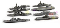 Wholesale hot collection U S pacific naval military battleship carrier fleet model naval destroyer assembled models ornaments scenario model