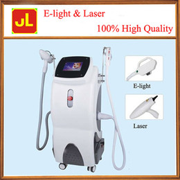 Wholesale E light laser machine for vascular lesions removal tattoo hair removal amp skin rejuvenation