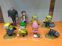 Wholesale Hot New Despicable Me Despicable Me D big eyes Precious Milk Dad soy pills capsule toy doll
