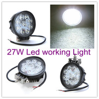 Wholesale 2PCS LED Working Light Spot beam degree W V DC for Off load vehicles Trucks