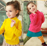 Girl 3-7y Spring / Autumn 2013 Hot New Fashion children t-shirt Baby boys and girls tshirts sweater sweatshirt tee shirt kid long sleeve turtleneck t shirt