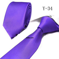 Wholesale 50pcs men ties solid color ties neckties CM tie shirt tie neck tie colors ties Woven ties