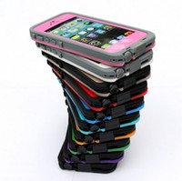 Wholesale 2013 new Waterproof Cover Case for iphone G s Colors in Retail Packaging