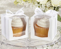 Wholesale single cupcake box cake box