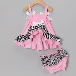 leopard baby dress sets posh petti jumper dresses blouse tank tops underpant pp pant suits newborn suit panties pettskirt P515