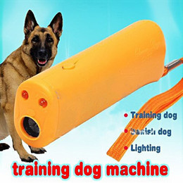 Wholesale Gently New AD Plastic Training Dog Banish Dog Machine Remote Pet Flash Light