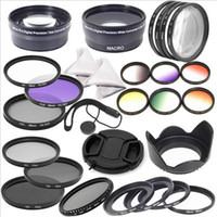 Wholesale 28pcs Complete Filter Set mm for Canon EOS D D D D D D D LF132