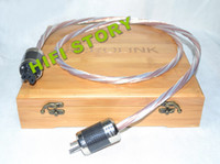 Cable HiFi  Acrolink Silver Plated+Telfon Copper US Power cable For Tube amplifier CD Player 1.5M