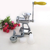 Wholesale Deluxe Cast Iron Manual Meat Grinder Mincer Table Hand Crank Sausage Stuffer