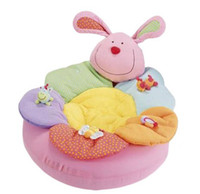 baby nest - New Hot Sale ELC Blossom Farm Sit Me Up Cosy Baby Seat Baby Play Mat Play Nest Baby Soft Sofa Small Baby Toys Attached