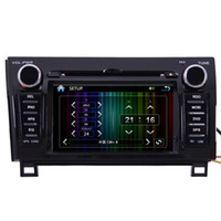 2 DIN Special In-Dash DVD Player 7 Inch 07-12 Toyota Tundra Sequoia Car GPS Navigation Radio MP3 TV CAR DVD Player
