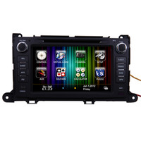 2 DIN Special In-Dash DVD Player 7 Inch CAR DVD FOR Toyota Sienna Car GPS Navigation Radio TV AUX Bluetooth MP3 IPOD
