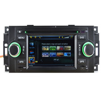 Wholesale Car GPS Navigation Bluetooth IPOD Radio AUX MP3 TV DVD Fit Dodge Chrysler Jeep