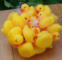 Bath Toys Animals 2 Years Bathe Duck with sounds Baby Kids Toys Non-Toxic Rubber Toys 100pcs