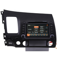 Wholesale 06 Honda Civic Car GPS Navigation Bluetooth IPOD Radio USB MP3 TV DVD Player