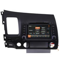 Wholesale Car GPS Navigation IPOD Radio USB MP3 TV DVD Player for Honda Civic
