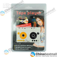 Wholesale Car MP3 Player Tape Cassette Adapter for SD MMC Reader Chinabestmall