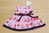Wholesale retail AMISSA baby dress girl dress kid dress cotton princess dress