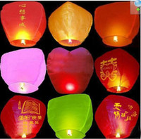 Different festivals    Hot sale Sky Lanterns,Wishing Lantern fire balloon Chinese Kongming lantern Wishing free shipping