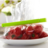 Wholesale All purpose BRAND NEW FOOD FREEZER BAG CLIPS PLASTIC SEAL STORAGE CLASP