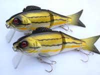 5pcs JOINTED Fishing Lure CRANKBAITS hooks 47. 8g 14. 5cm J