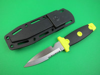 Wholesale Drop shipping Kershaw diving knife C blade HRC scuba diving for water sports knives cutting tools best gift for diver