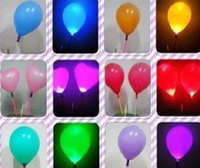 Wholesale The second generation Colorful LED light balloons Night Market hot toys LED light stick