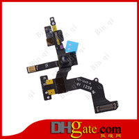Wholesale High Quality Front Camera With Proximity Light Sensor Flex Ribbon Internal Mic Module For iPhone