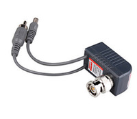 Wholesale CCTV Camera Video Audio Power Balun BNC CCTV Transceiver Cable High Quality packs Express