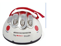 Wholesale Cool Electronic Gadget Electric Shock Lie Detector Shocking Liar With Retail Box