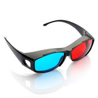 Wholesale Free DHL Universal D eyewear Myopia General D VISION Discover Stereo Game Movies Anaglyph Glasses for TV