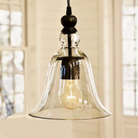 Wholesale New Antique Vintage Style Glass Shade Ceiling Light Pendant Lamp Fixture U1